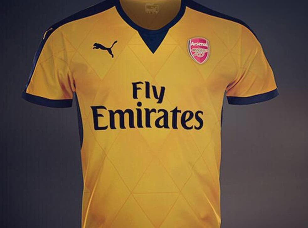 Is this Arsenal's new away shirt?