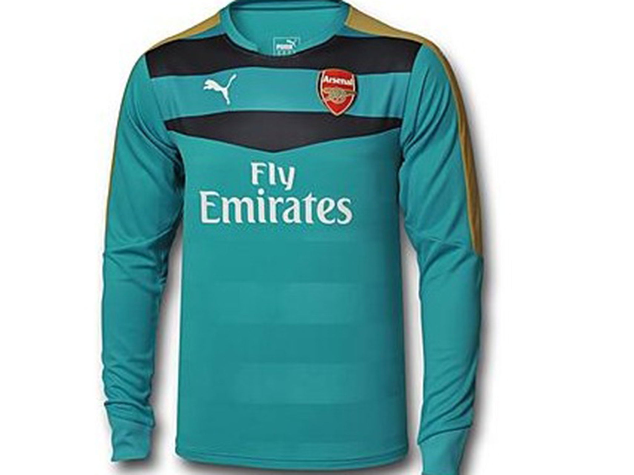 1e3e4ff17d6 Arsenal 2015/16 goalkeeper shirts do not have short sleeves: Have ...