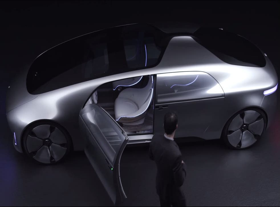 Mercedes' concept F 015 luxury self-driving car