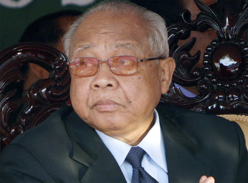 Chea Sim in 2010; he was both ally and rival of Hun Sen, and in recent years his power had been negligible