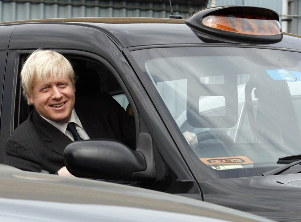 The Mayor of London was apparently accused of not doing enough to protect black cabs. File photo.