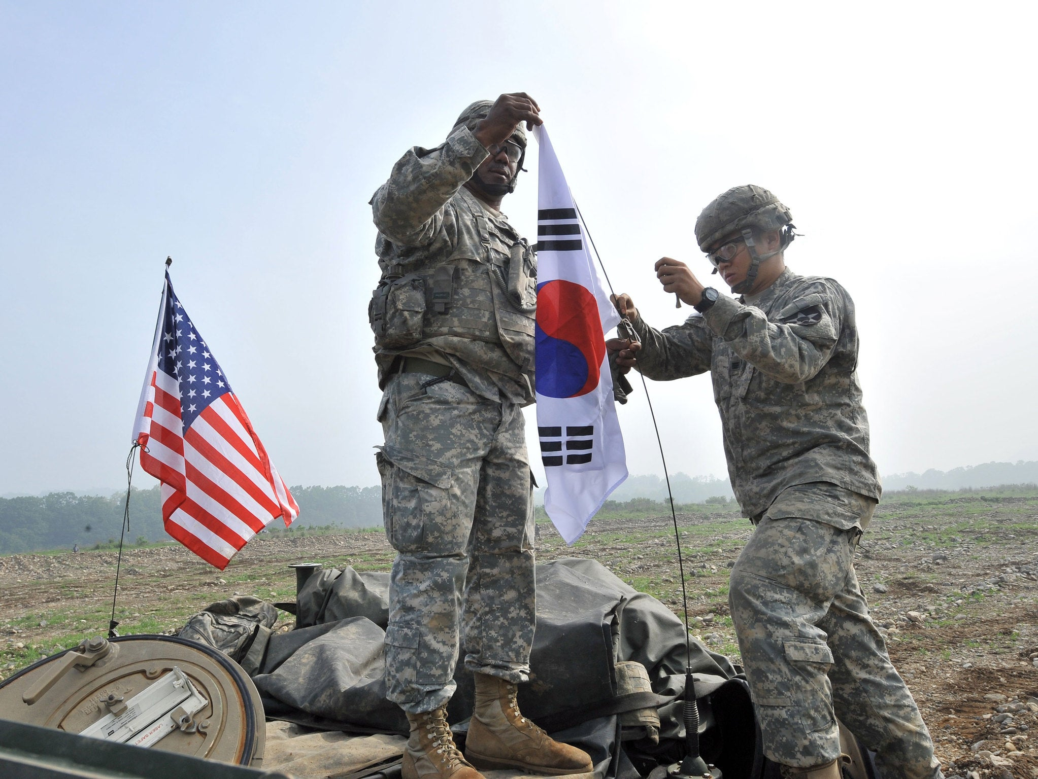 US Soldier Found Dead In South Korea After Training Exercises At - Us army bases in korea map