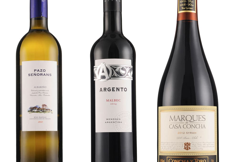 wines of the week pazo senorans albarino rias baixas 2013 argento seleccion malbec 2014 marques de casa concha syrah 2012