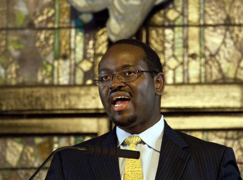 Clementa Pinckney, 41, the pastor killed in Wednesday's shootings, was a rising star in South Carolina politics (EPA)