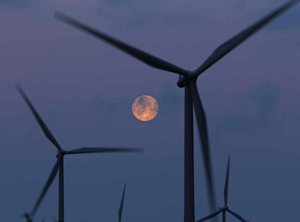 Whitelee wind farm, Glasgow, is the largest in the UK; the end of subsidies could cost Scotland £3bn