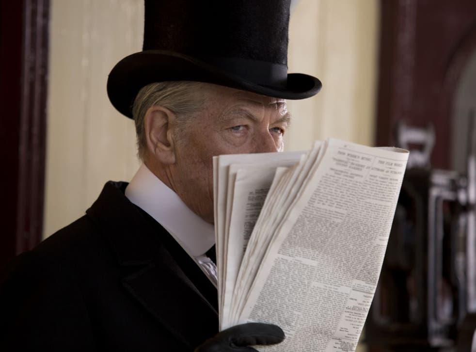 Man of mystery: Ian McKellen as an ageing Sherlock Holmes