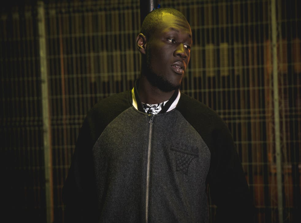 Up-and-coming artist Stormzy