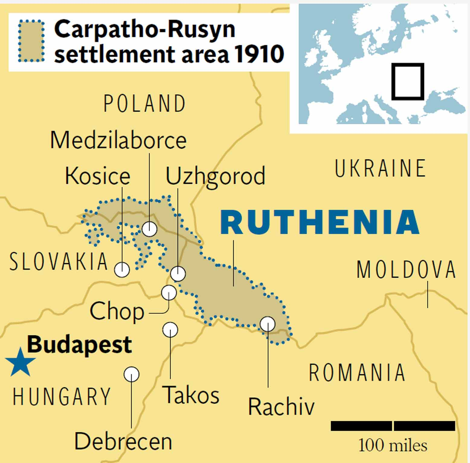 The Lost Nation Of Ruthenia A Journey Through No Mans Land The