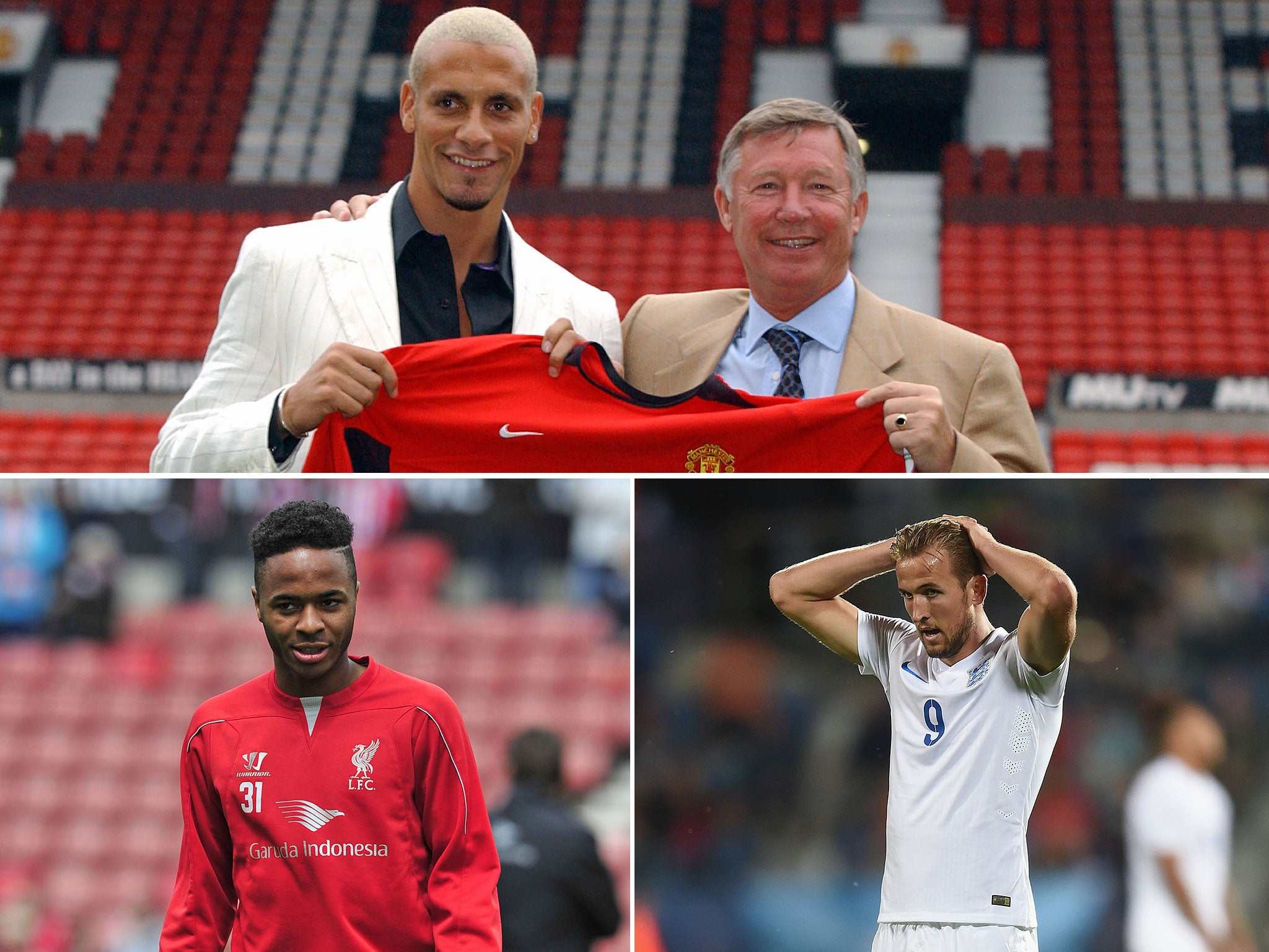 Rio Ferdinand brandishes bids for Manchester United target Harry Kane and Liverpool winger Raheem Sterling 'overpriced' and a 'joke'