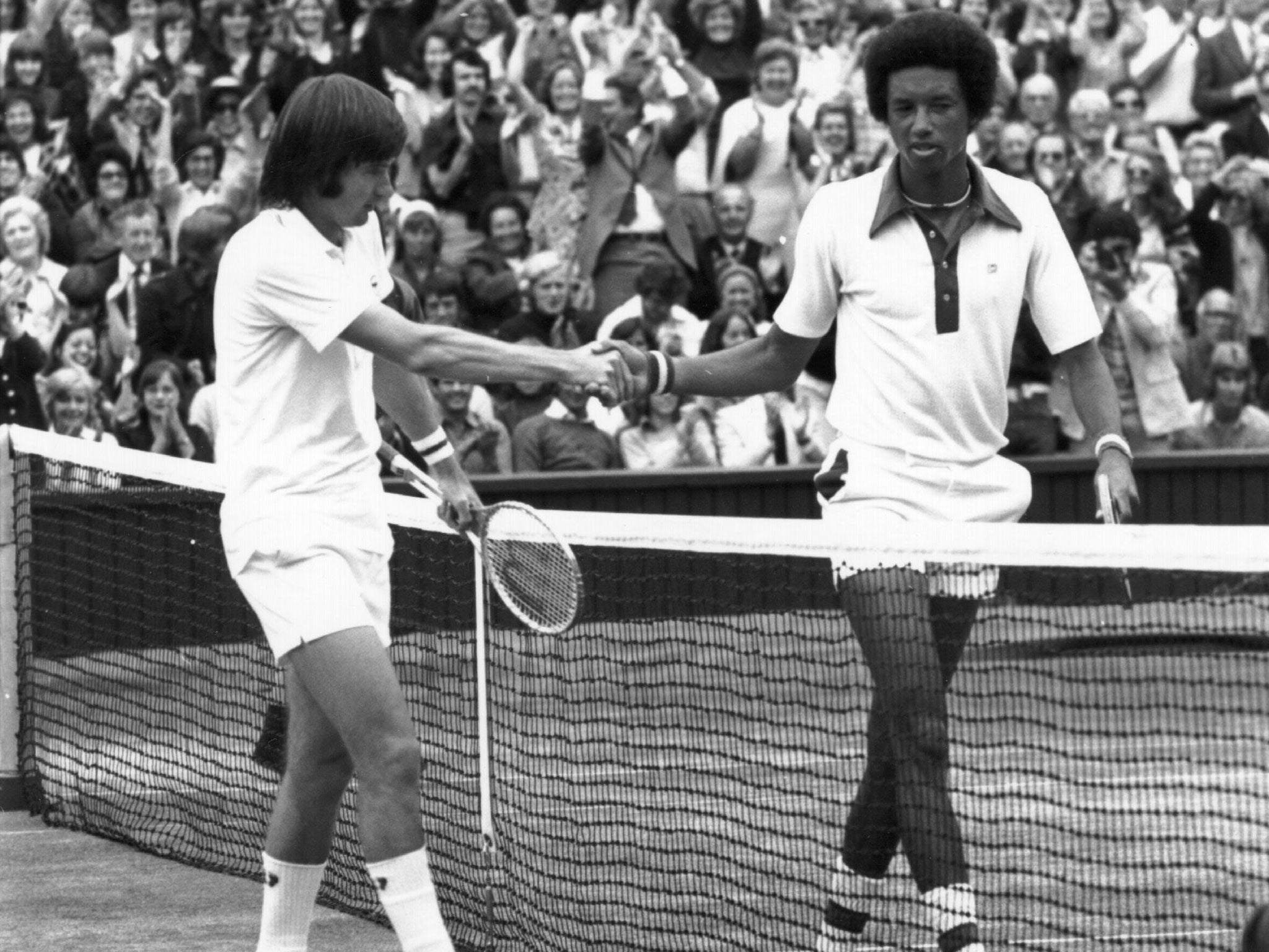 Arthur Ashe vs Jimmy Connors The attraction of opposites