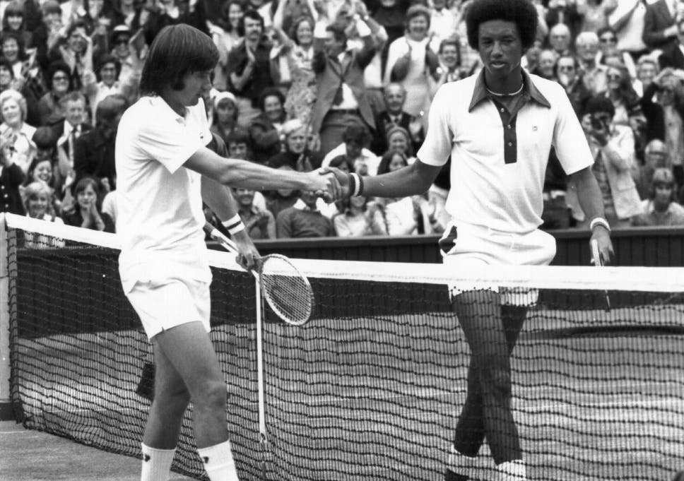 arthur ashe vs jimmy connors the attraction of opposites the