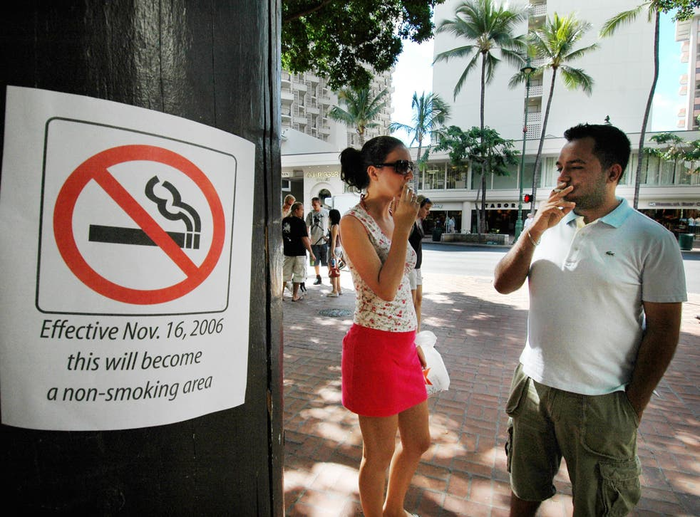 Campaigners say almost all adult smokers in Hawaii started in their teens