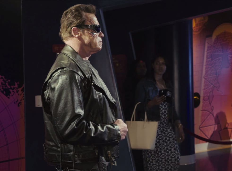 The former Governor of California dressed up as The Terminator to prank fans