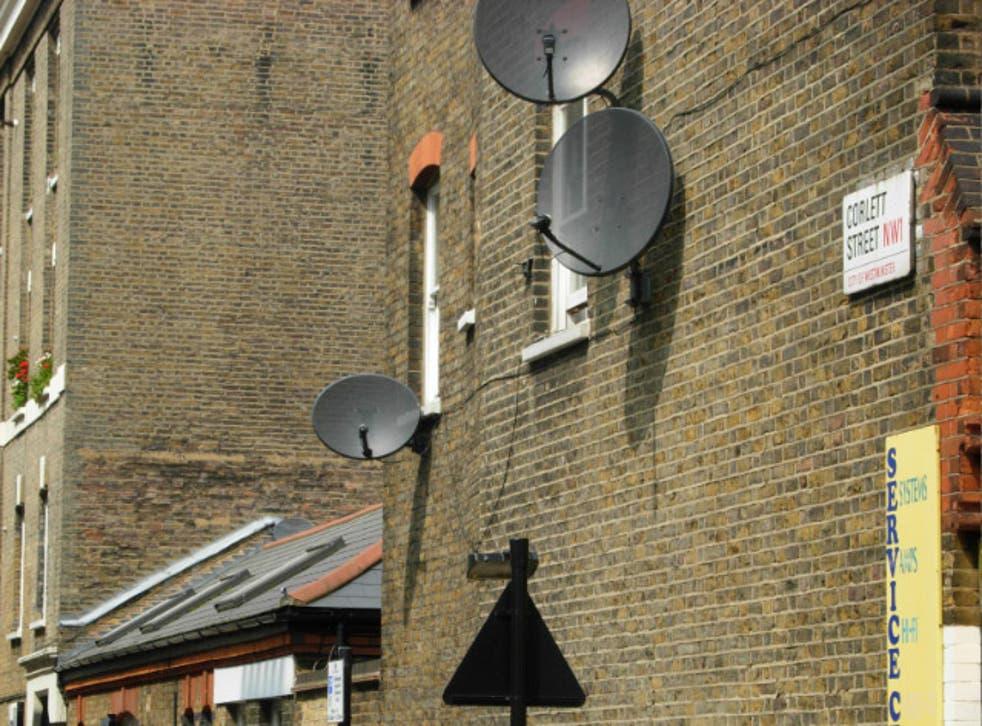 Corlett Street in Lisson Grove, Westminster