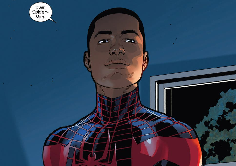 Miles Morales is to replace Peter Parker as first black
