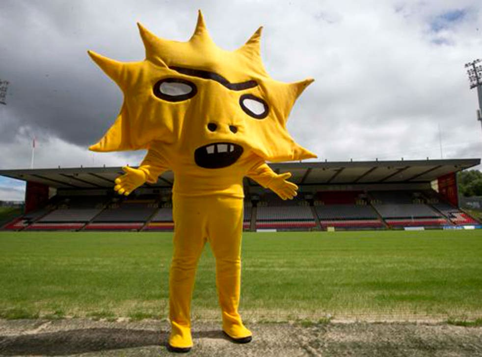 Partick Thistle's new mascot 'Kingsley'