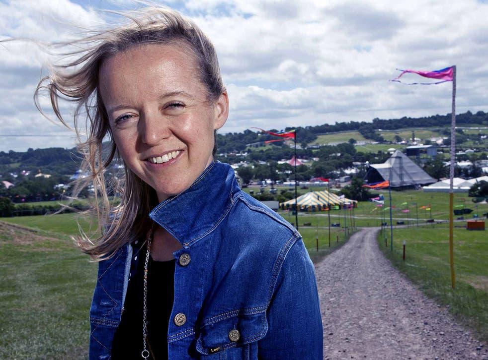 Field of dreams: Emily Eavis