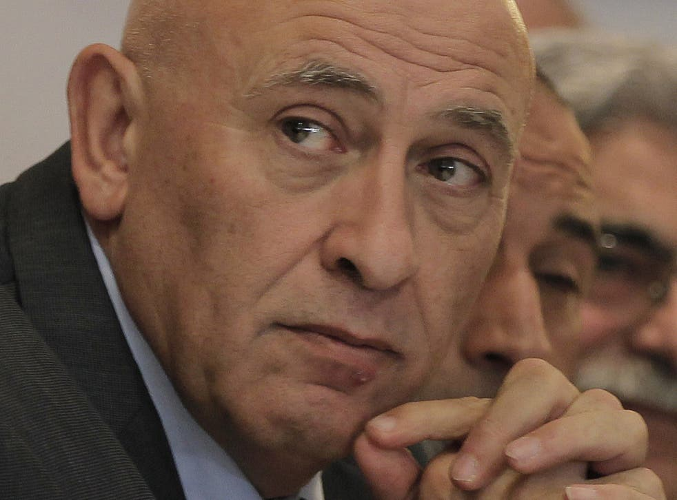 Basel Ghattas of the Joint Arab List. Arab Israelis represent around 20 percent of the Jewish state's population, according to polls