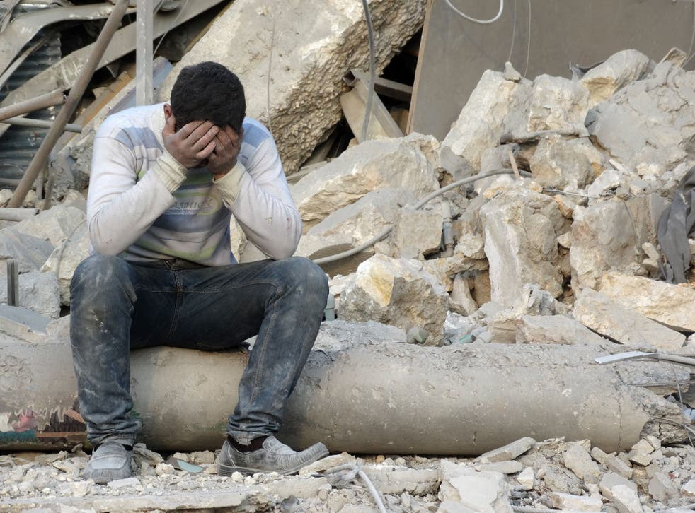 A new report says that the Syrian economy has retracted by over 50 per cent in real terms, as outward migration and an estimated 250,000 deaths have caused Syria's population to fall by more than 15 per cent