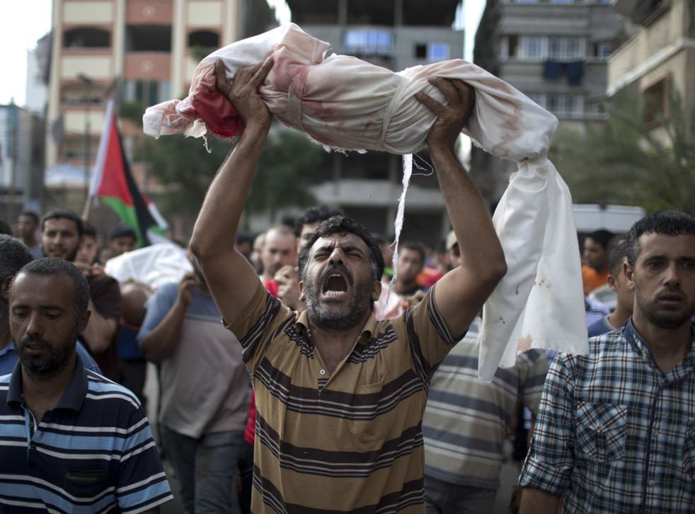 The UN report determined that the clear majority of the 2,251 Palestinians killed were civilians, 551 of them children