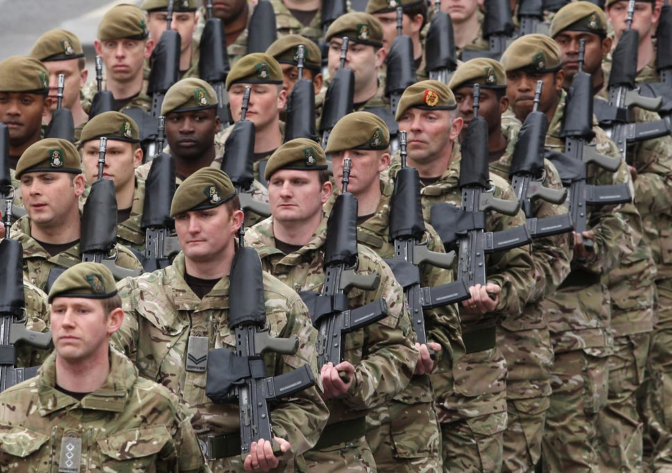 Army is no longer able to defend UK properly, say 1 in 2 | The ...