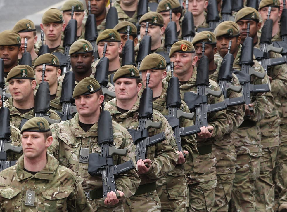 A poll of 2,100 people found that nearly half do not believe the British Army is now capable of properly defending the UK