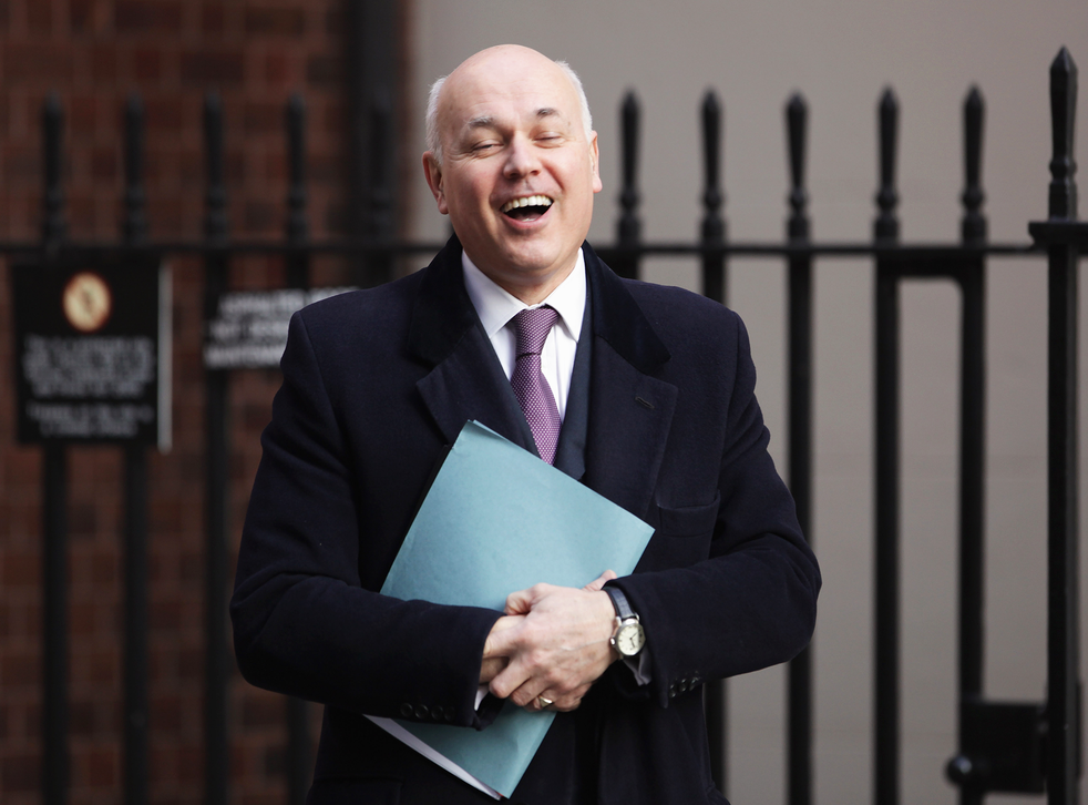 Iain Duncan Smith was Work and Pensions Secretary for almost six years