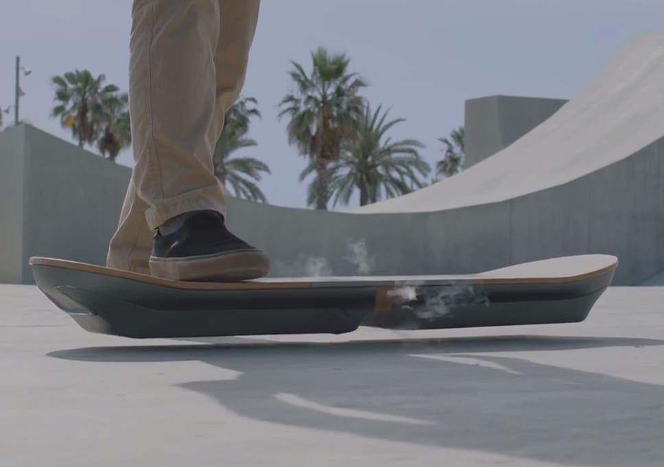 Lexus Has Made A Real, Rideable Hoverboard Called U0027SLIDEu0027, It Claims