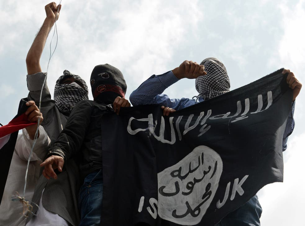 Isis has released a wave of propaganda and launched new offensives as the one-year anniversary of the 'caliphate' approaches