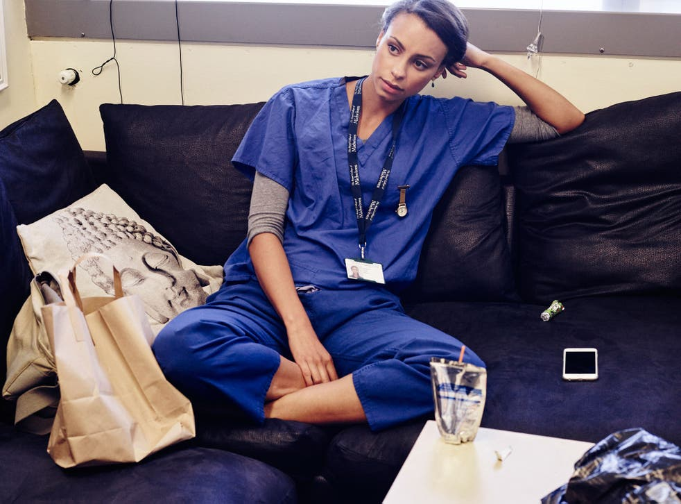 Snack and deliver: Midwives on a night shift at the Royal Sussex Hospital, Brighton