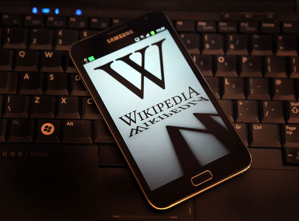 Wikipedia records all changes made to its pages
