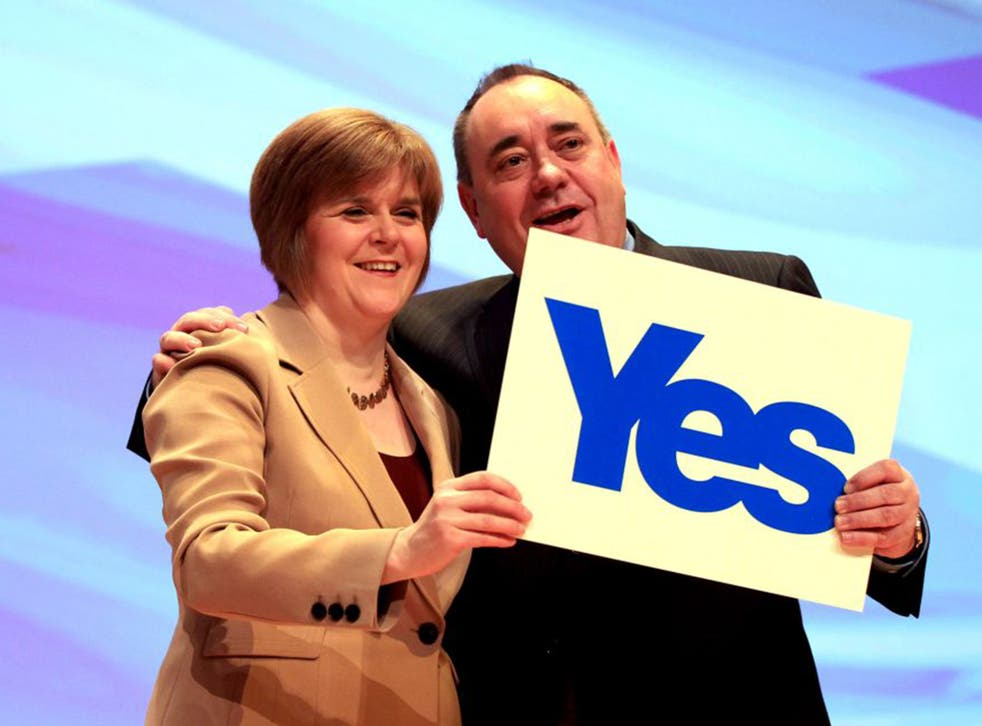 Nicola Sturgeon and Alex Salmond's plan for fiscal independence was a key policy during the Scottish referendum campaign (Getty)