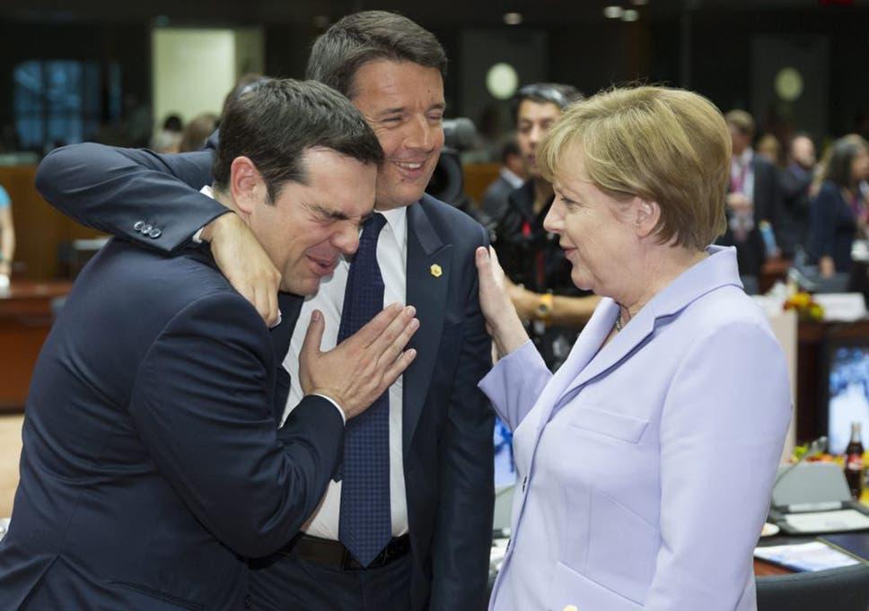 Image result for tsipras renzi