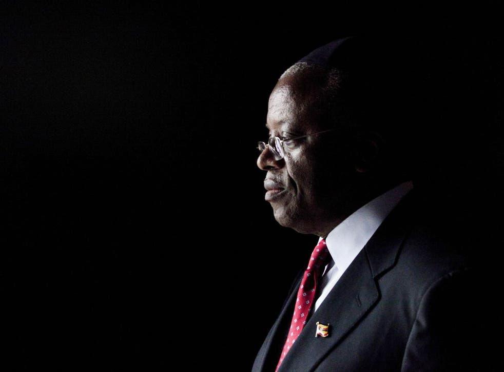 Former Ugandan Prime Minister Amama Mbabazi