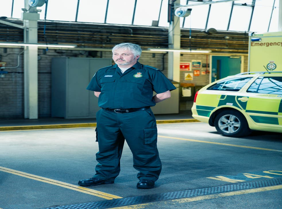 Craig Cassidy was one of the first paramedics on the train at Aldgate and he was the last off: 'When I get out, a colleague tells me I've been down there for an hour. It felt like 20 minutes'