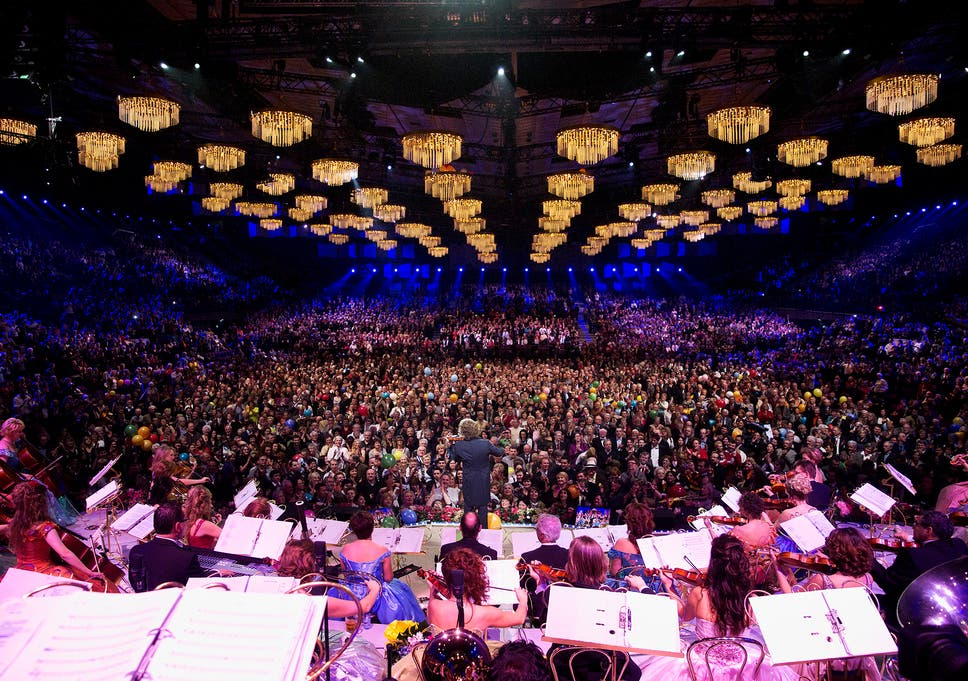 Andre Rieu: How the Waltz King's concerts have inspired a cult ...