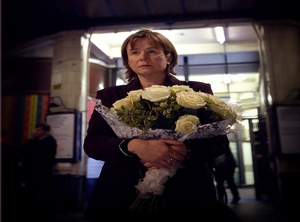 Grief: Emily Watson as Julie Nicholson in 'A Song for Jenny'