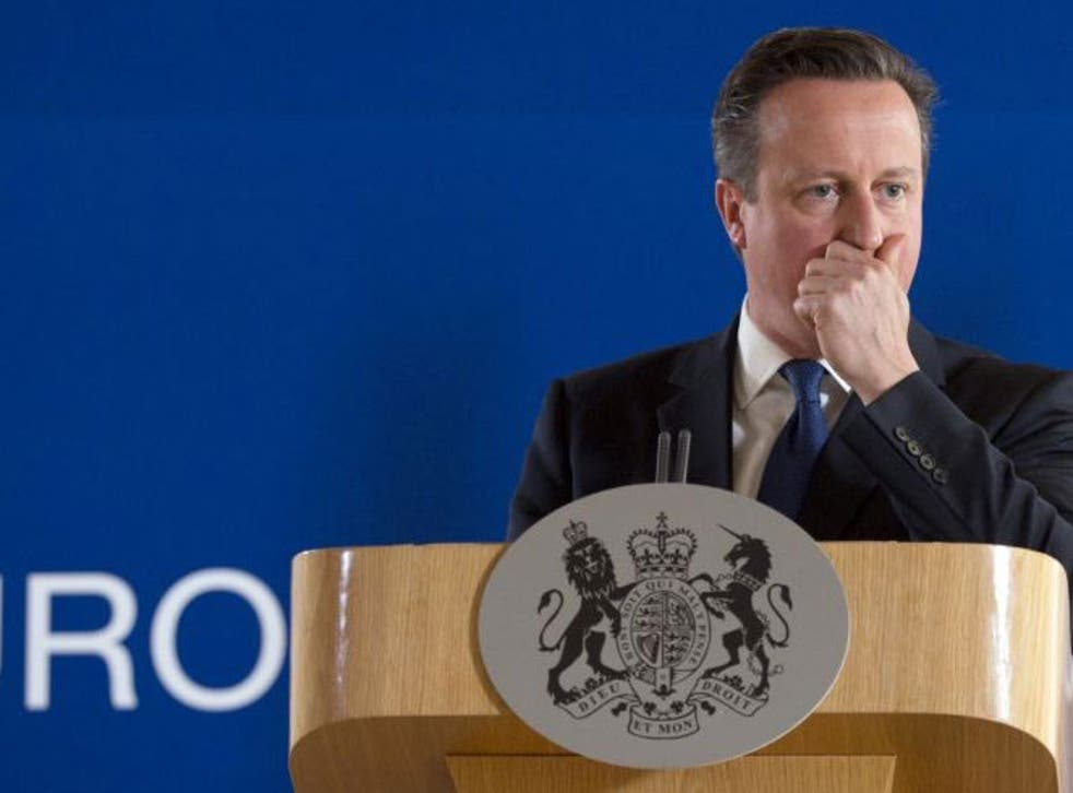 David Cameron said the world must show 'solidarity' to combat extremism