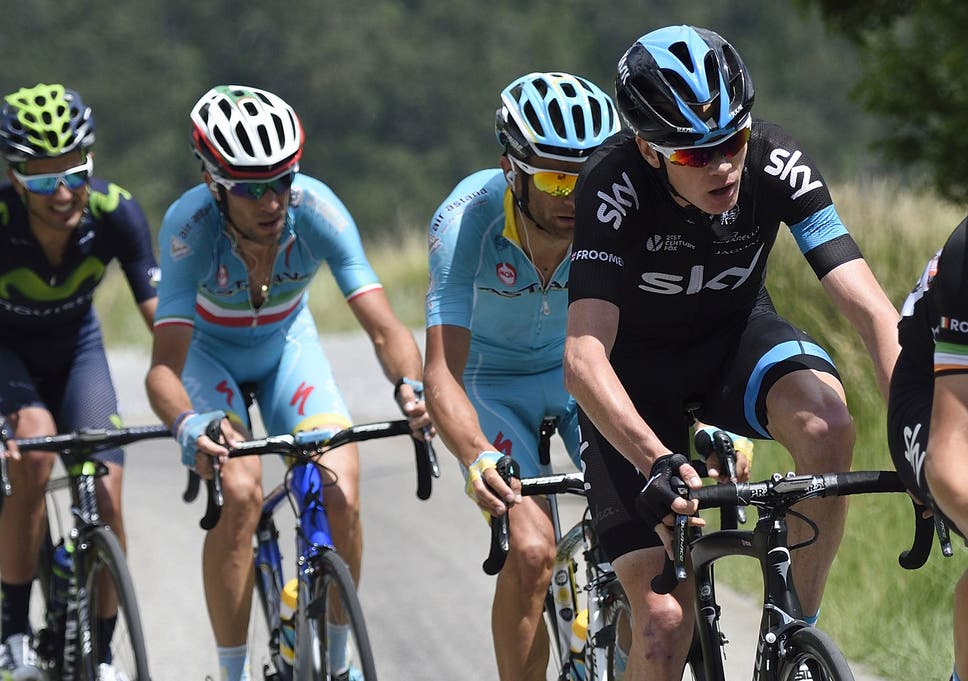 a22aca6ad Chris Froome battles with Vincenzo Nibali (second left) in this month s  Critérium du Dauphiné