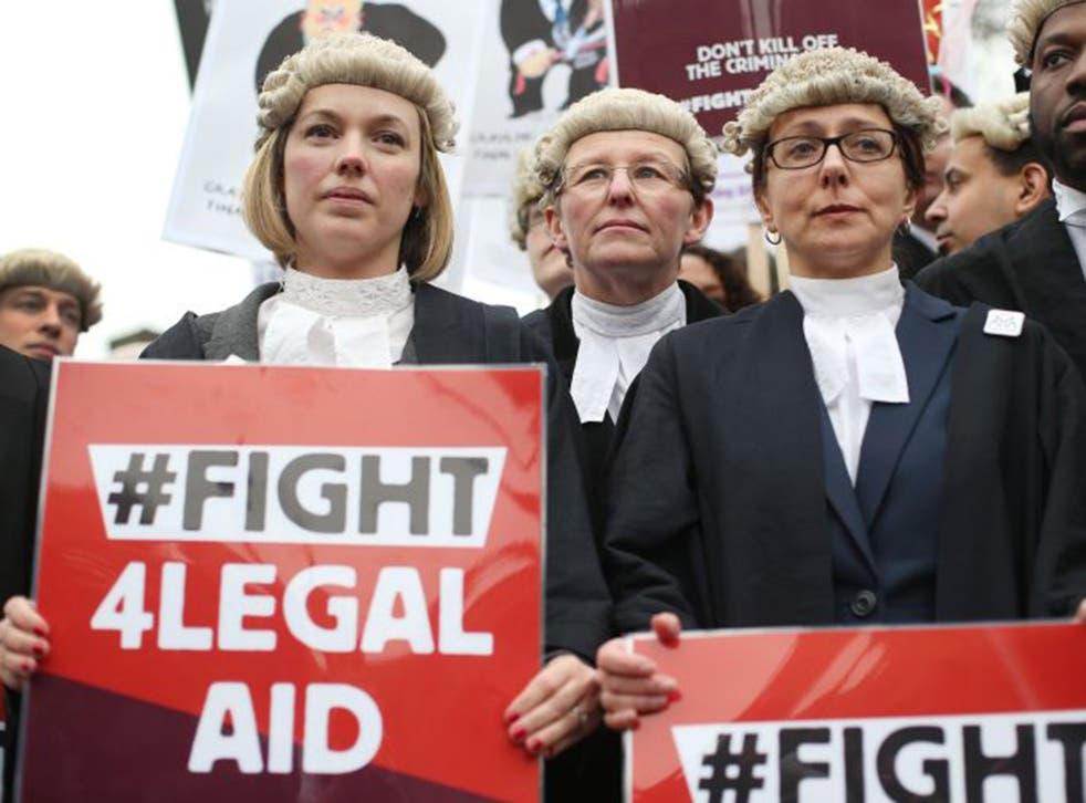 The Criminal Bar Association said the system was in 'chaos', following protests in 2014 and 2015
