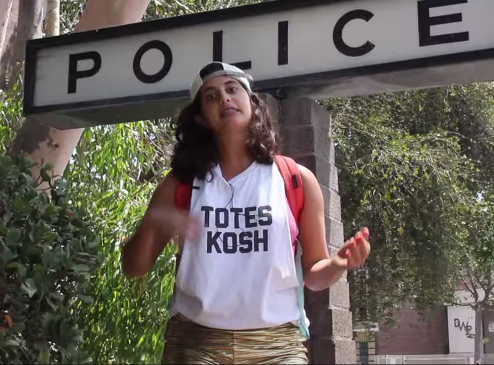 Comedian Jessie Kahnweiler took the streets to demonstrate her privilege