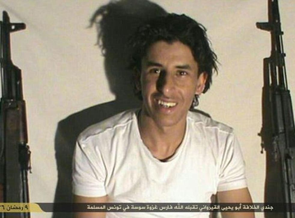 """Seifeddine Rezgui was given the name of """"Abu Yahya al-Qayrawani"""" by Isis, who have subsequently claimed responsibility for the attack (AP)"""