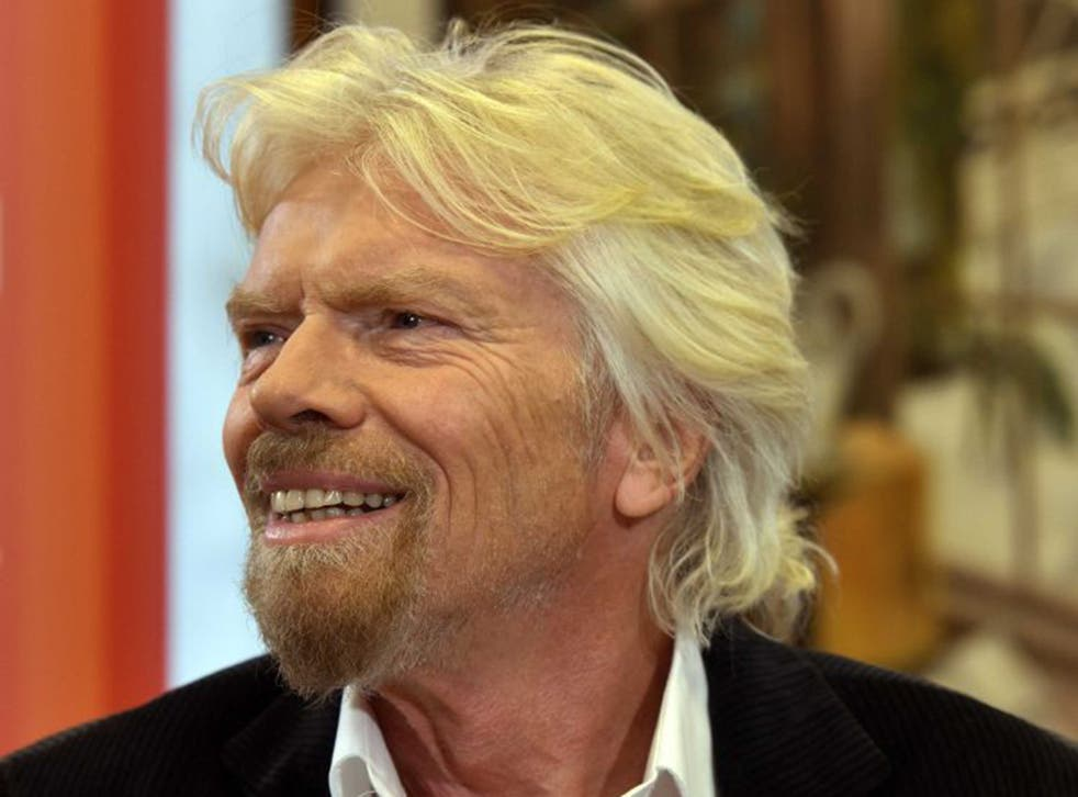 Sir Richard Branson was speaking on the BBC's Andrew Marr Show