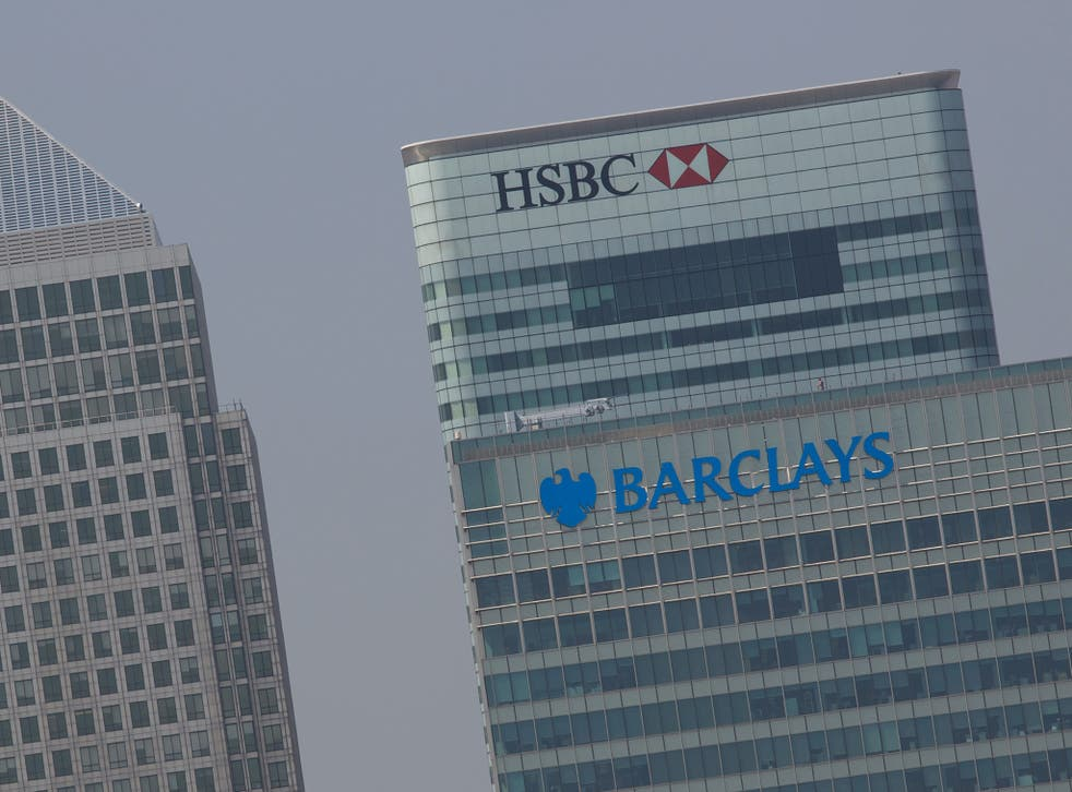 In the rankings HSBC have fallen from 5th to 9th place, Barclays from 12th to 13th
