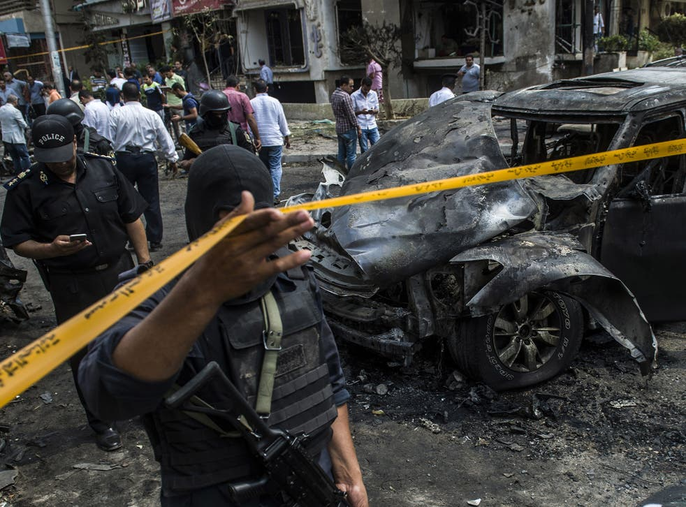 The prosecutor later died of his injuries a few hours after the blast, according to Egyptian media