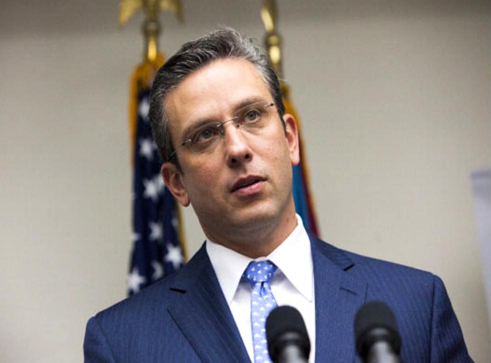 Alejando Garcia Padilla, Governor of Puerto Rico says the country's debt is 'unpayable'