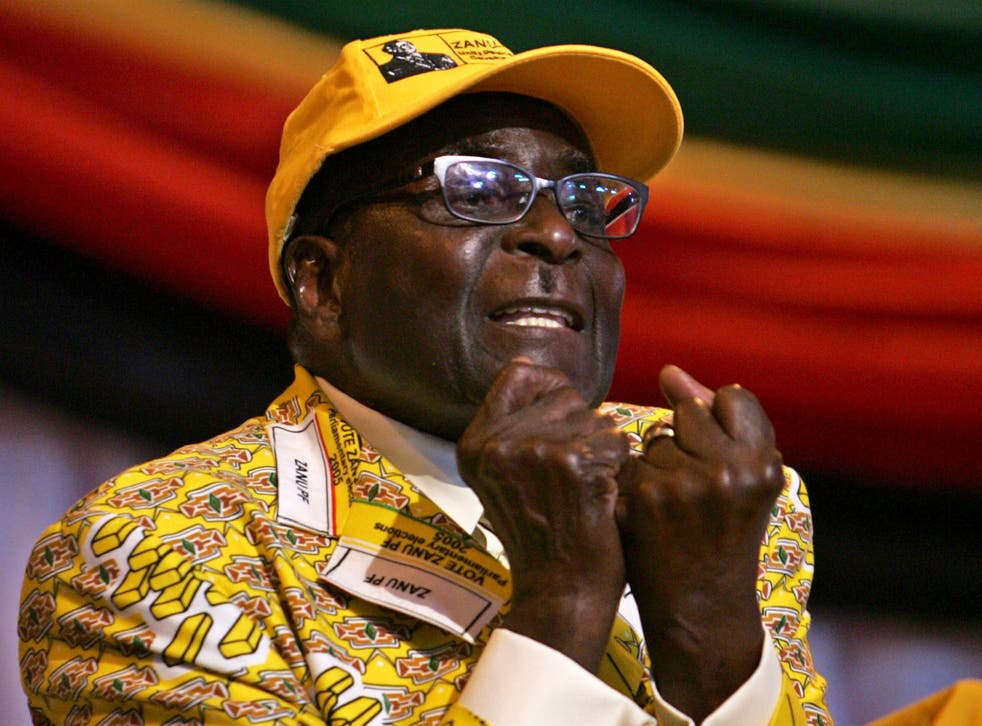 Robert Mugabe will be 94 at the next election