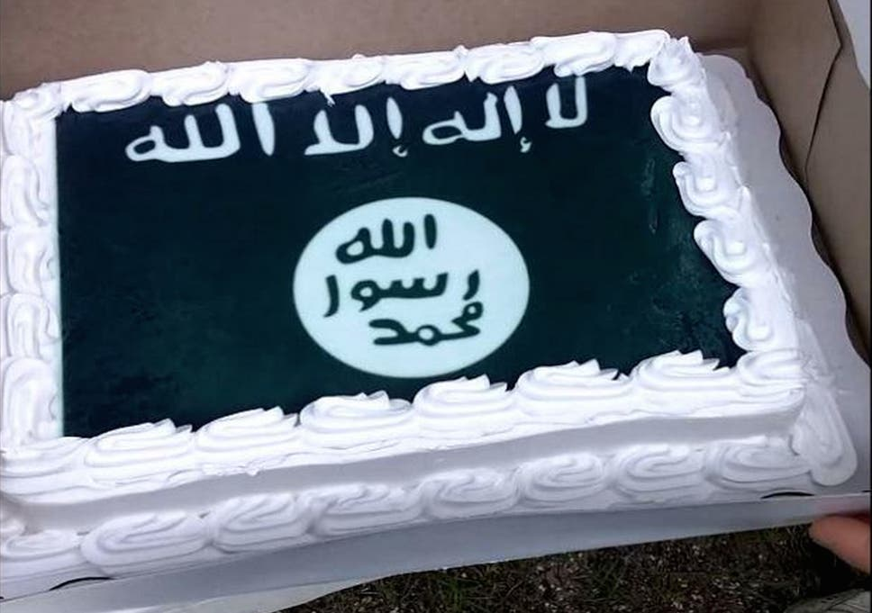 Prime Walmart Refused To Make A Confederate Flag Cake Instead Made Isis Personalised Birthday Cards Veneteletsinfo
