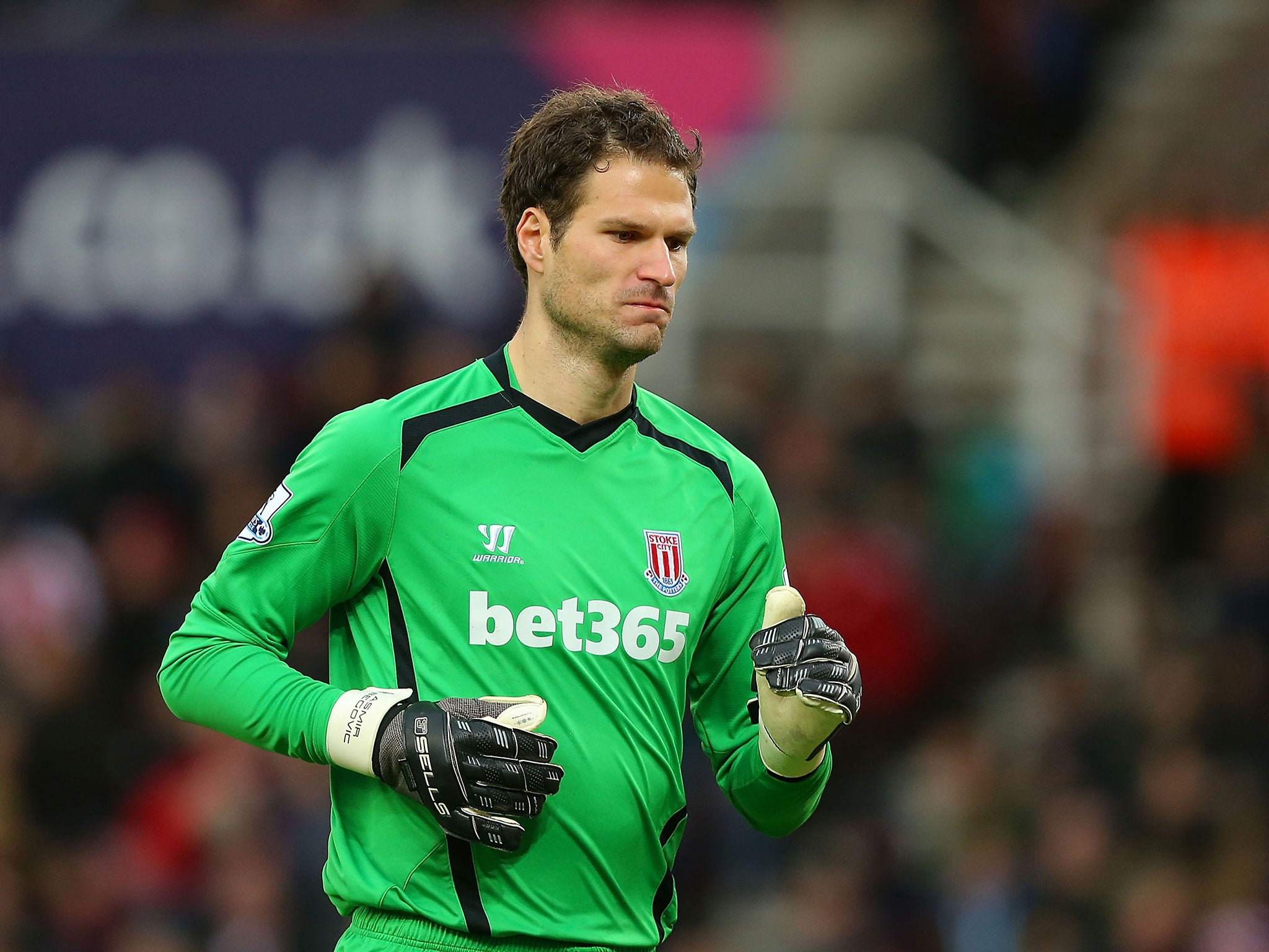 Asmir Begovic to Chelsea Blues confident they can tempt Stoke No