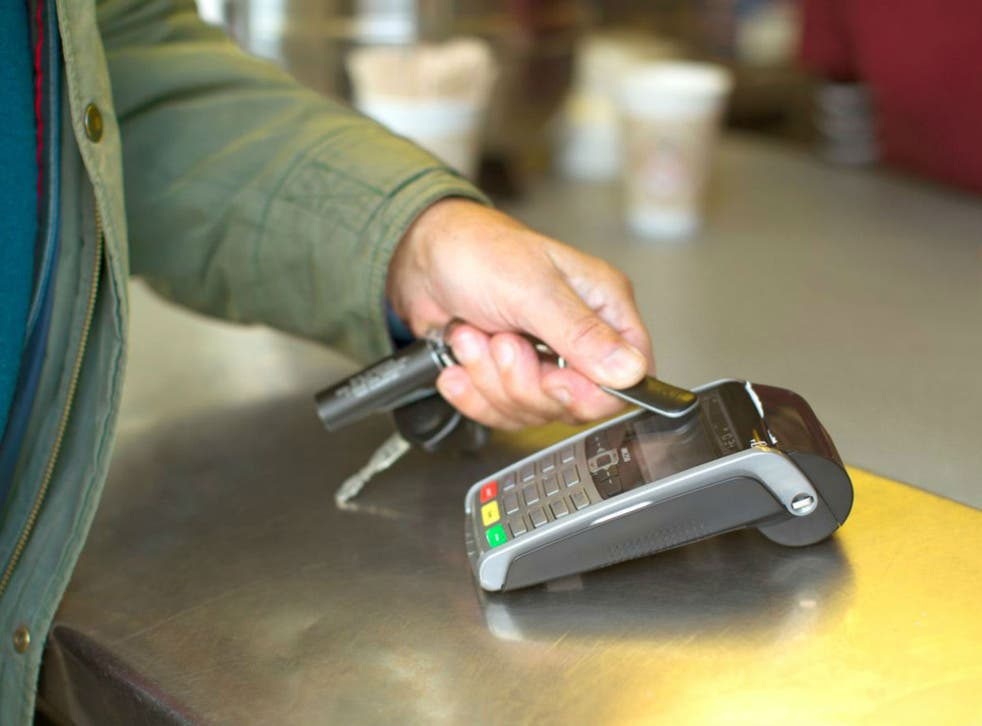 Contactless payments reached £23bn in the first half of 2017